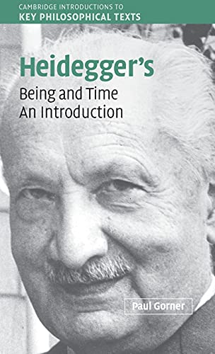 9780521833226: Heidegger's Being and Time: An Introduction (Cambridge Introductions to Key Philosophical Texts)