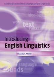 9780521833509: Introducing English Linguistics Hardback: From Text to Sound (Cambridge Introductions to Language and Linguistics)