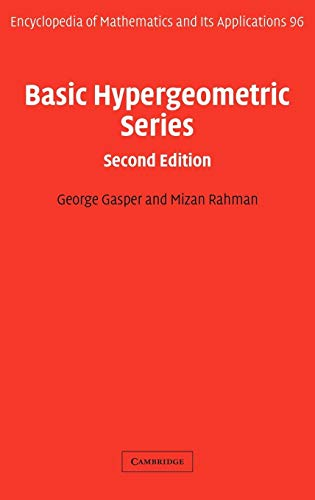 9780521833578: Basic Hypergeometric Series (Encyclopedia of Mathematics and its Applications)