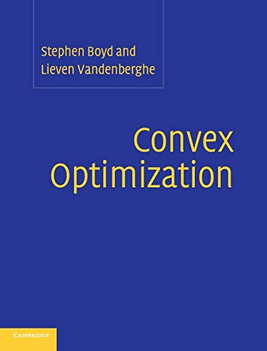 9780521833783: Convex Optimization, With Corrections 2008