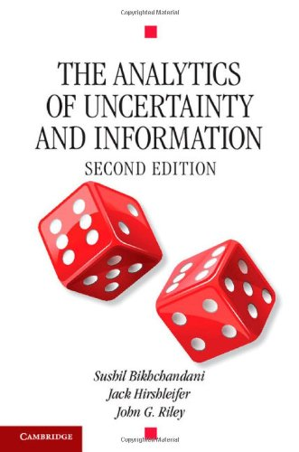 9780521834087: The Analytics of Uncertainty and Information (Cambridge Surveys of Economic Literature)