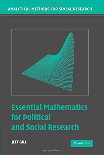 9780521834261: Essential Mathematics for Political and Social Research Hardback (Analytical Methods for Social Research)