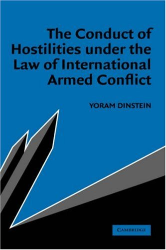 9780521834360: The Conduct of Hostilities under the Law of International Armed Conflict