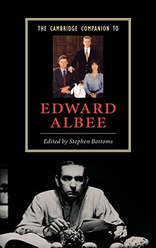 9780521834551: The Cambridge Companion to Edward Albee (Cambridge Companions to Literature)