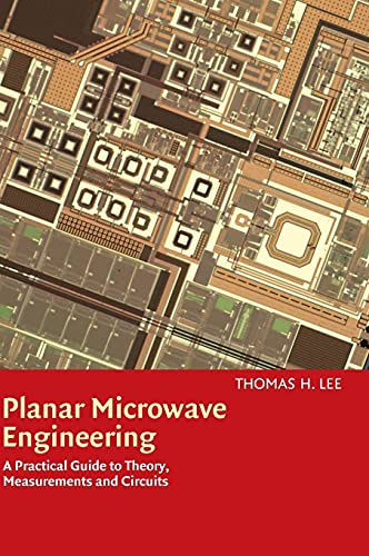 9780521835268: Planar Microwave Engineering: A Practical Guide to Theory, Measurement, and Circuits