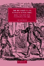 9780521835466: The Revolution in Popular Literature: Print, Politics and the People, 1790-1860 (Cambridge Studies in Nineteenth-Century Literature and Culture)