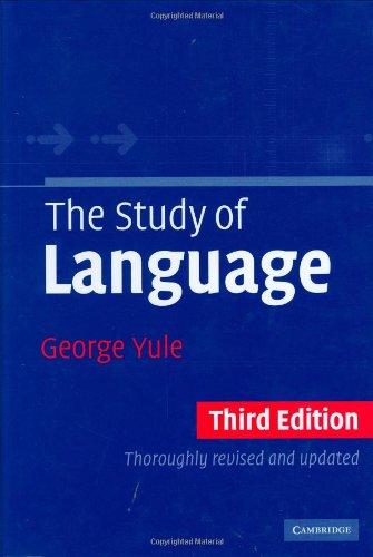 9780521835572: The Study of Language