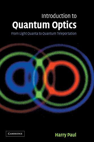 Introduction to Quantum Optics (From Light Quanta: Paul, Harry