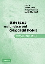 9780521835954: State Space and Unobserved Component Models: Theory and Applications