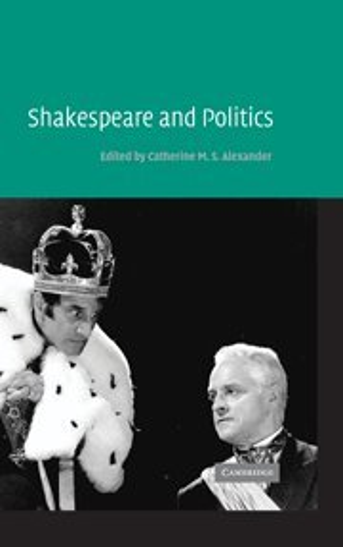 9780521836234: Shakespeare and Politics