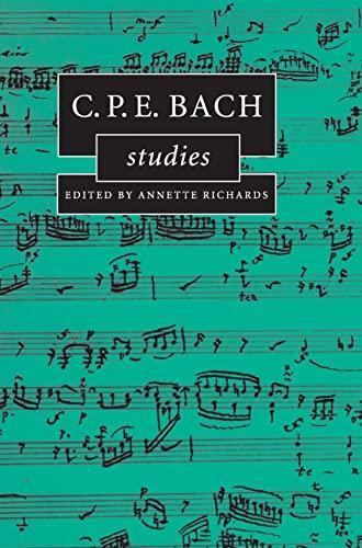 C.P.E. Bach Studies (Cambridge Composer Studies): Cambridge University Press