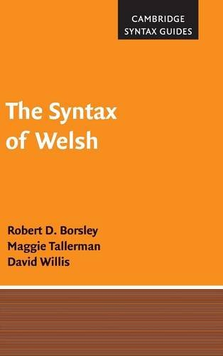 The Syntax of Welsh (Cambridge Syntax Guides): Robert D. Borsley; Maggie Tallerman; David Willis
