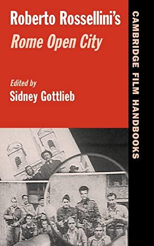 9780521836647: Roberto Rossellini's Rome Open City (Cambridge Film Handbooks)
