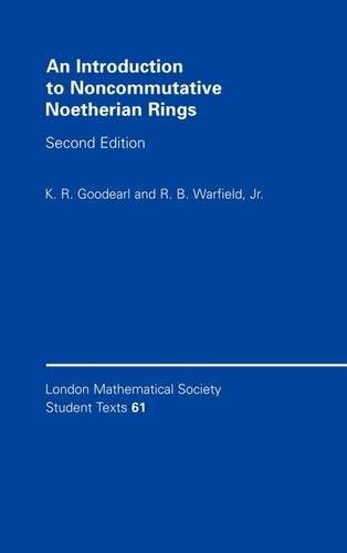 9780521836876: An Introduction to Noncommutative Noetherian Rings (London Mathematical Society Student Texts)