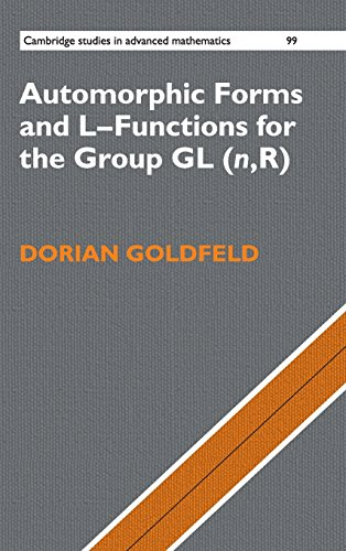 9780521837712: Automorphic Forms and L-Functions for the Group GL(n,R) Hardback (Cambridge Studies in Advanced Mathematics)