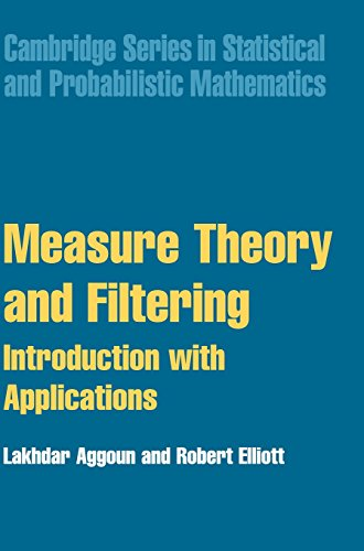 Measure Theory and Filtering: Introduction with Applications: Aggoun, Dr Lakhdar,