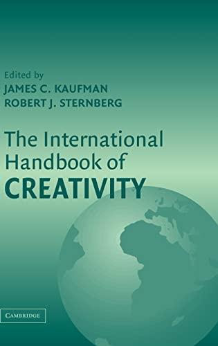 9780521838429: The International Handbook of Creativity