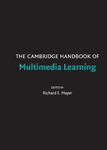9780521838733: The Cambridge Handbook of Multimedia Learning (Cambridge Handbooks in Psychology)