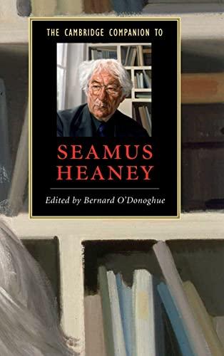 9780521838825: The Cambridge Companion to Seamus Heaney (Cambridge Companions to Literature)