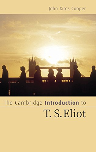 9780521838887: The Cambridge Introduction to T. S. Eliot Hardback: An Introduction (Cambridge Introductions to Literature)