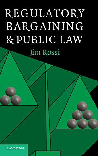 9780521838924: Regulatory Bargaining and Public Law