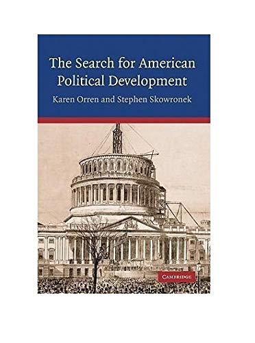 9780521838948: The Search for American Political Development