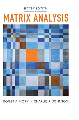 9780521839402: Matrix Analysis 2nd Edition Hardback