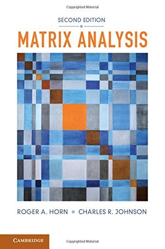 9780521839402: Matrix Analysis