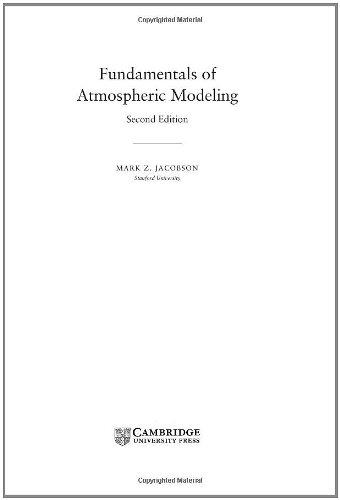 9780521839709: Fundamentals of Atmospheric Modeling