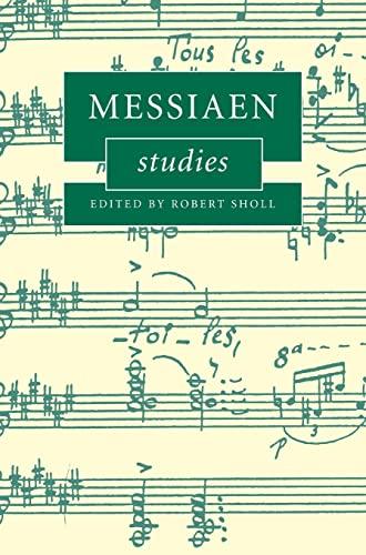 9780521839815: Messiaen Studies (Cambridge Composer Studies)