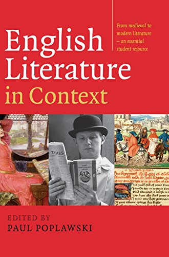 9780521839921: English Literature in Context Hardback