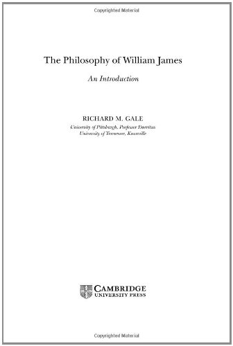 9780521840286: The Philosophy of William James Hardback: An Introduction