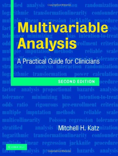 9780521840514: Multivariable Analysis: A Practical Guide for Clinicians