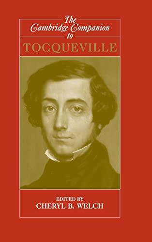9780521840644: The Cambridge Companion to Tocqueville Hardback (Cambridge Companions to Philosophy)