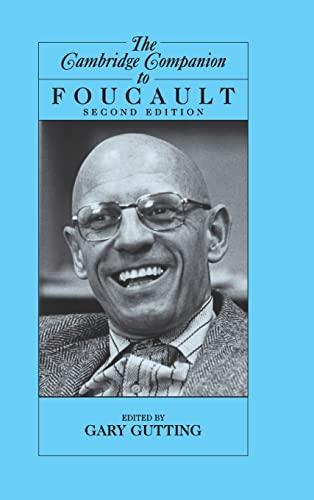 9780521840828: The Cambridge Companion to Foucault (Cambridge Companions to Philosophy)