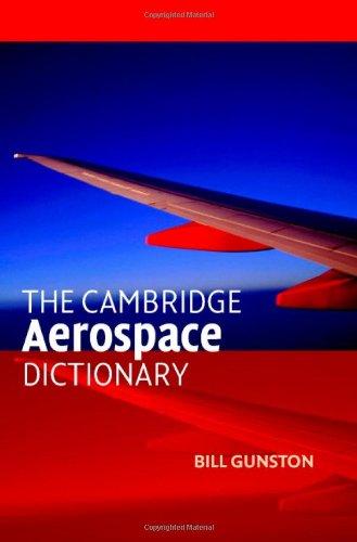 9780521841405: The Cambridge Aerospace Dictionary (Cambridge Aerospace Series)
