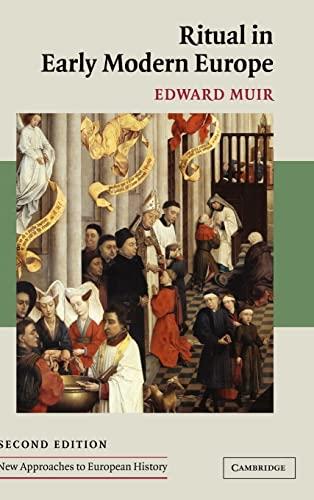 Ritual in Early Modern Europe: Edward Muir