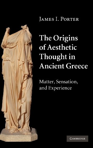 9780521841801: The Origins of Aesthetic Thought in Ancient Greece: Matter, Sensation, and Experience