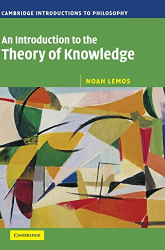 9780521842136: An Introduction to the Theory of Knowledge Hardback (Cambridge Introductions to Philosophy)