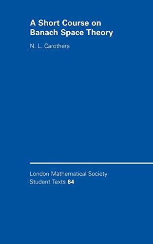 9780521842839: A Short Course on Banach Space Theory (London Mathematical Society Student Texts)