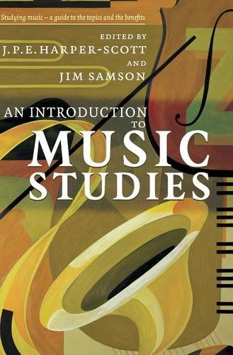 9780521842938: An Introduction to Music Studies