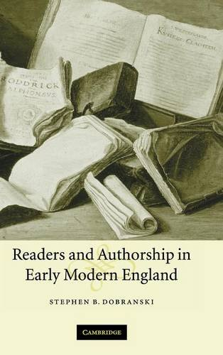 9780521842969: Readers and Authorship in Early Modern England