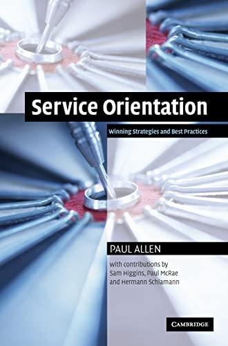 9780521843362: Service Orientation: Winning Strategies and Best Practices