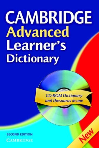 9780521843799: Cambridge Advanced Learner's Dictionary Hardback with CD ROM