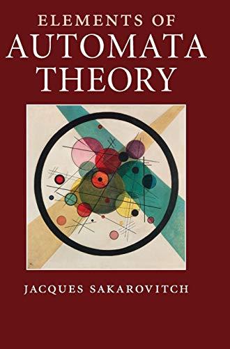 9780521844253: Elements of Automata Theory