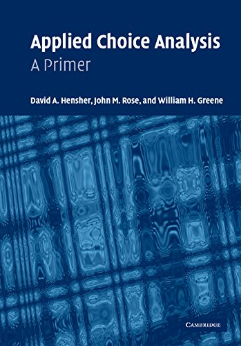 9780521844260: Applied Choice Analysis: A Primer