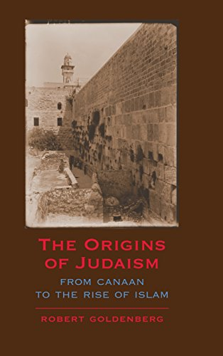 9780521844536: The Origins of Judaism: From Canaan to the Rise of Islam