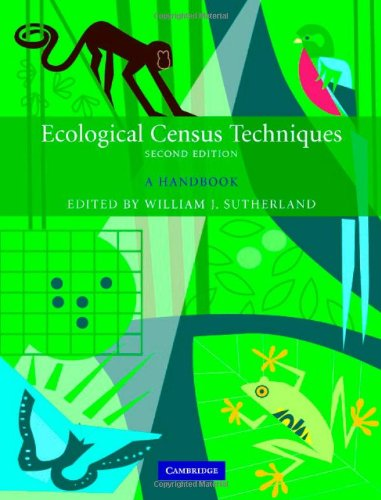 9780521844628: Ecological Census Techniques: A Handbook
