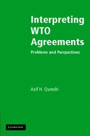 9780521844758: Interpreting WTO Agreements: Problems and Perspectives