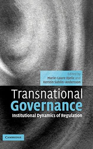 9780521845038: Transnational Governance: Institutional Dynamics of Regulation